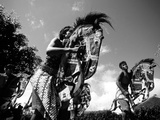 Performance of a Kuda Kepang Traditional Dance Photographic Print