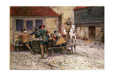 English Civil War in 1645, 1900 Giclee Print by William Barnes Wollen