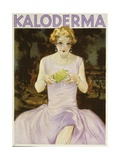 German Advertisement for 'Kaloderma' Soap, Printed by F. Wolff Und Sohn, Karlsruhe, 1929 Giclee Print by Jupp Wiertz