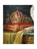 Detail from Franz Joseph I of Austria, c.1916 Giclee Print by Vienna Nedomansky Studio