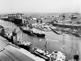 Glasgow's River, Looking South-East from the Roof of Meadowside Granary, 1995 Fotografisk trykk