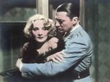 "Still from the Film ""Shanghai Express"" with Marlene Dietrich and Clive Brook, 1932 Photographic Print by  German photographer"