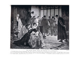 The English Embassy During the Massacre of St Bartholomew, Illustration fro Giclee Print by Philip Hermogenes Calderon