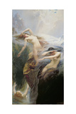 The Mountain Mists Or, Clyties of the Mist, 1912 Giclee Print by Herbert James Draper