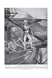 Captain Cook Approaching New Zealand, Illustration from 'Hutchinson's Story of the British… Giclee Print by Richard Caton Woodville