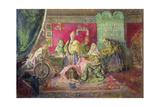 In a Boyar House Giclee Print by Ivan Semyonovich Kulikov