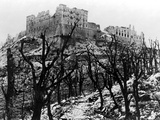 The Battle of Cassino: The Abbey of Monte Cassino Reduced to Rubble Following the Heavy Allied… Photographic Print