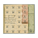 Ration Book for William Pearson, Chorleywood, Hertfordshire, 1919 Giclee Print by  English School
