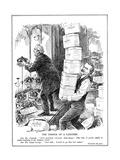 Asquith and Lloyd George Prepare to Create 500 Additional Peers to Overcome the Opposition of the… Giclee Print by Leonard Raven-hill