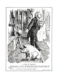 Lloyd George Faces Opposition to His 'Government of Ireland' Bill from the  Impression giclée par  English School