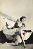 Aleksandra Dionisyevna Danilova, from 'Footnotes to the Ballet', Published 1938 Photographic Print