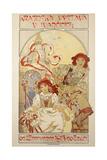Krajinska Vystava V Ivancicich, 1913 Giclee Print by Alphonse Mucha