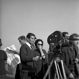 Pasolini with Laura Betti Filming 'La Ricotta' for 'Rogopag', 1963 Photographic Print