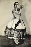 Tamara Toumanova, from 'Footnotes to the Ballet', Published 1938 Photographic Print