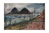 Football at Rio de Janeiro Giclee Print by  English School