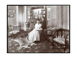 A Room at the Hotel Cadillac, 1907 Giclee Print by  Byron Company