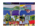 Lake Annecy, 1994 Giclee Print by Derek Balmer