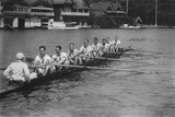 Great Britain, Silver Medallists in the Eights at the 1928 Amsterdam Olympi Photographic Print by Bushells of Henley