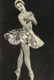 Tamara Toumanova, from 'Footnotes to the Ballet', Published 1938 Reproduction photographique