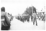 Anzac Day March in Queanbeyan, New South Wales, 1948 Photographic Print by  Australian Photographer