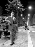 Pier Paolo Pasolini in Rome, July 1960 Photographic Print