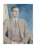 Portrait of Patrick Buchan-Hepburn, Lord Hailes, 1934 Giclee Print by Glyn Warren Philpot