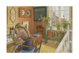 Letter-Writing, 1912 Giclee Print by Carl Larsson