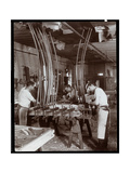 Men Working in a Piano Factory, 1907 Giclee Print by  Byron Company