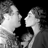 Mario Del Monaco and Maria Callas Photographie