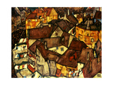 Krumau Town Cresent, 1915 Wydruk giclee autor Egon Schiele