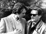 Terence Stamp and Pier Paolo Pasolini, 1965 Fotografie-Druck