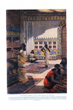 The Famous Library of King Ashur-Bani-Pal, at Nineveh, Illustration from 'Hutchinson's History of… Giclee Print by Fernand Le Quesne