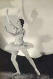Dame Margot Fonteyn de Arias, from 'Footnotes to the Ballet', Published 1938 Photographie