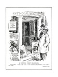 The Liberal Prime Minister, Lloyd George, Invites His Conservative Chancell Giclee Print by Leonard Raven-hill