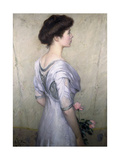 The Pink Rose, 1910 Giclee Print by Lilla Cabot Perry