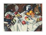 Still Life of Oranges and Apples Giclee Print by Samuel John Peploe