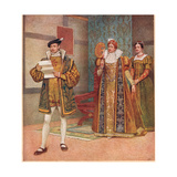 'Their are Some Shrewd Contents in Your Same Paper', Illustration from 'The Merchant of Venice',… Giclee Print by Sir James Dromgole Linton