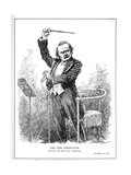Lloyd George as the New Conductor of the Coalition Government, December 1916 Giclee Print by Leonard Raven-hill