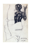 Seated Female Archer, 1922 Giclee Print by Jan Theodore Toorop