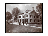 Residence of Alton Brooks Parker, Esopus Creek, New York, 1904 Giclee Print by  Byron Company
