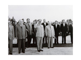 The Arrival of the Soviet Delegation in Belgrade, 26th May 1955 Giclée-tryk af Russian Photographer