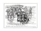 Lloyd George, as 'King Canute', Decides to Modify His Budget Proposals after Criticism by… Giclee Print by Edward Linley Sambourne