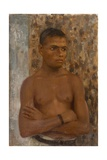 Half Length of Ralph, 1923 Giclee Print by Henry Scott Tuke