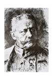 General Paul Von Hindenburg Giclée-Druck von Hugo Vogel