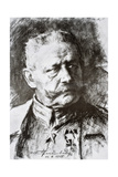 General Paul Von Hindenburg Giclee Print by Hugo Vogel