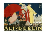 Ernst Deutsch-dryden - German Advertisement for a Christmas Fair in Berlin, Printed by Hollerbaum and Schmidt, Berlin,… - Giclee Baskı