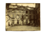 Hotel de Montmorency, 1900 Giclee Print by Eugene Atget