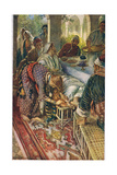 The Woman with the Box of Ointment, Illustration from 'Women of the Bible', Published by the… Giclee Print by Harold Copping