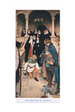 The Knighting of Galahad, Illustration from 'King Arthur' Giclee Print by William Hatherell