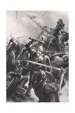 The Battle of Stamford Bridge, Illustration from 'British Battles on Land and Sea', Published by… Giclee Print by Christopher Clark